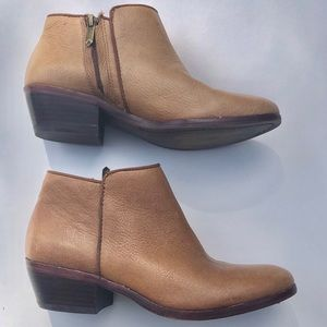 Women's Brown Leather Sam Edelman Boots Size 5 GUC